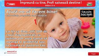 Ajuta-ne, cu un gest simplu, sa pregatim scoala, dascali, parinti si copii, pentru integrarea scolara a 150 de copii cu autism din tara!