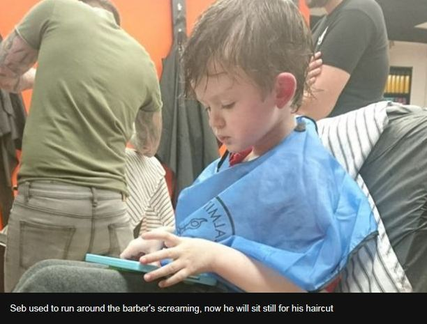 autism the children who find haircuts painful romanian angel appeal